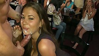 Cock sucking and facial cumshot taking