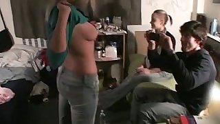 College mates fucking on camera