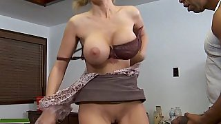 Fat black cock into my hot teacher
