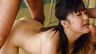 Kyoka Mizusawa fucke by her teacher in slutty manners