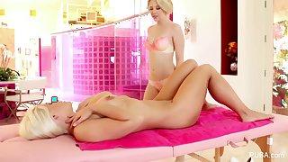 Samantha Rone Lesbian Massage