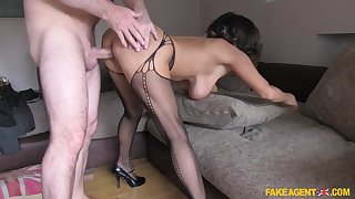 Crazy pornstar in Horny Stockings, Casting sex movie