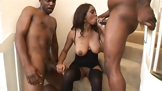 Hottest pornstar in best facial, brunette adult clip