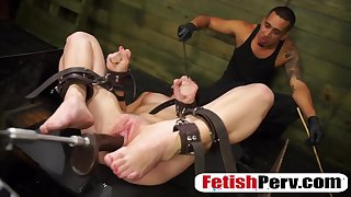 Teen Kaisey Dean Tied And ###d By Toys