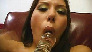 Crazy pornstar Jennifer Luv in horny pov, latina xxx movie