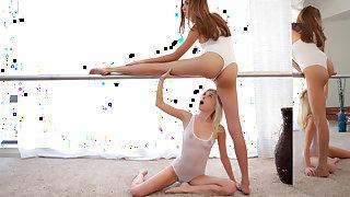Kristina Bell & Piper Perri in Ballerina Beauties - PetiteHDPorn