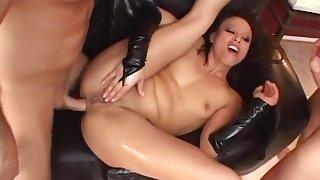 Exotic pornstar Jayna Oso in best asian, dp sex video
