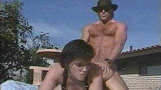 Fabulous pornstar in best brunette, outdoor sex scene
