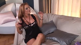 Mature girl can t wait for anal