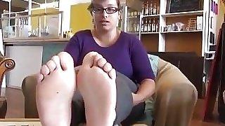 Cute Girl Soles Feet - 19 Years Old