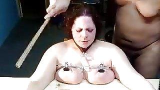 Punished tits
