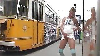 Tram Stop Pisser