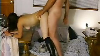 Crazy Amateur movie with Compilation, Brunette scenes