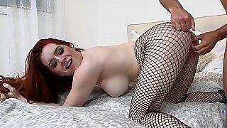 Fishnets hottie